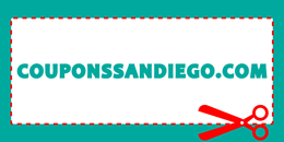 CouponsSanDiego.com – Find a Coupon for San Diego County Businesses Logo